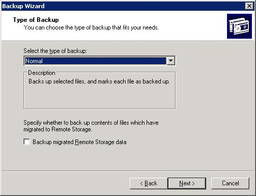 exchange server backup wizard 4