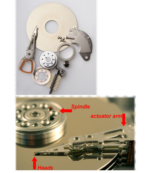 Parts for Fixing Damaged Harddrive Recovery