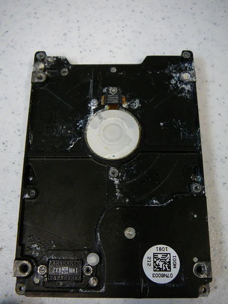 water damaged hard drive recovery