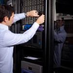IT Technician Reparing Data Drives