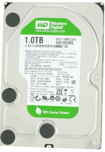 WD10EARS 1TB Western Digital Hard Drive